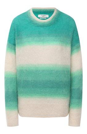 Женский пуловер ISABEL MARANT ETOILE зеленого цвета, арт. PU1244-21P056E/DRUSSELL   Фото 1