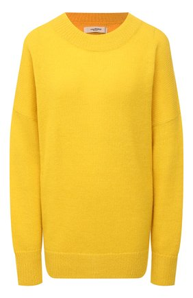 Женский шерстяной пуловер ISABEL MARANT ETOILE желтого цвета, арт. PU0871-21P061E/GAE | Фото 1