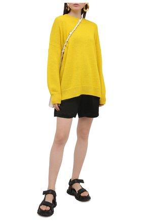 Женский шерстяной пуловер ISABEL MARANT ETOILE желтого цвета, арт. PU0871-21P061E/GAE | Фото 2