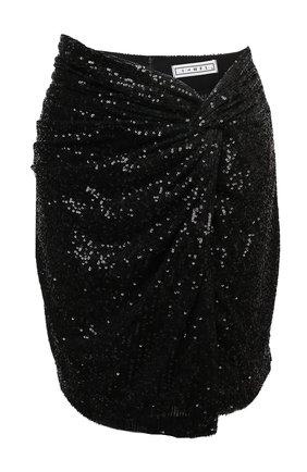 Женская юбка с пайетками IN THE MOOD FOR LOVE черного цвета, арт. ISLAY SKIRT | Фото 1