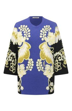 Женский пуловер из шерсти и кашемира VALENTINO разноцветного цвета, арт. VB3KCB9868Q | Фото 1