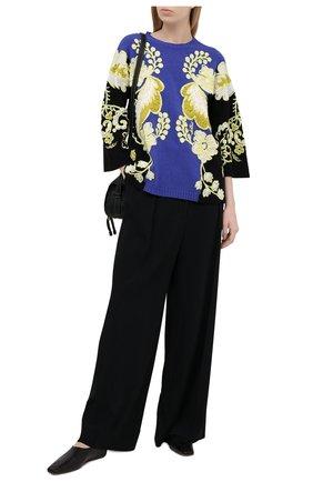 Женский пуловер из шерсти и кашемира VALENTINO разноцветного цвета, арт. VB3KCB9868Q | Фото 2