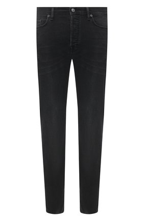 Мужские джинсы ACNE STUDIOS черного цвета, арт. B00172 | Фото 1