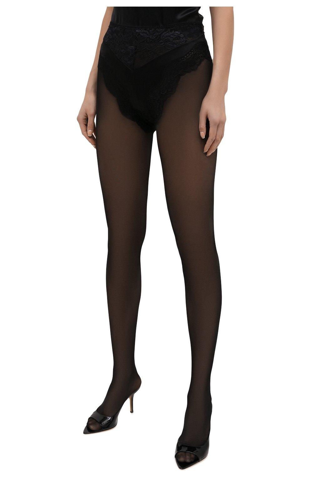 Женские шелковые шорты SAINT LAURENT черного цвета, арт. 652321/Y8B23 | Фото 3
