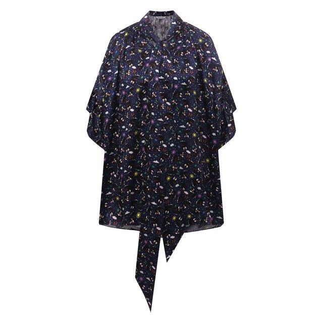 Шелковая блузка Balenciaga