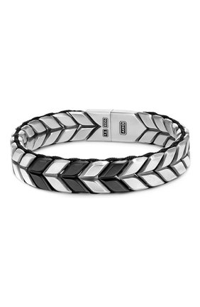 Мужской браслет DAVID YURMAN серебряного цвета, арт. B15928MTB | Фото 1