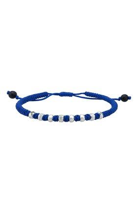 Мужской браслет fortune DAVID YURMAN синего цвета, арт. B25103MSSBBONV | Фото 1