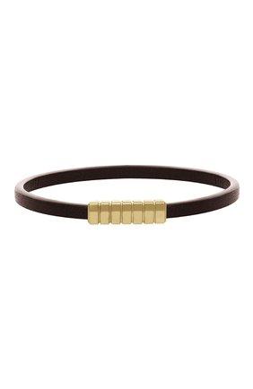 Мужской браслет DAVID YURMAN коричневого цвета, арт. B25155M88BRLE | Фото 1