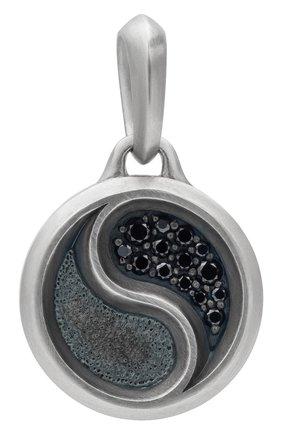 Мужской кулон DAVID YURMAN серебряного цвета, арт. D15958MSSABD | Фото 1