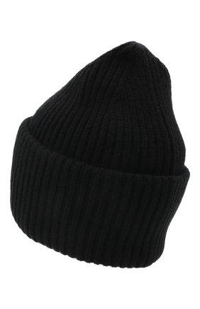 Мужская шерстяная шапка ACNE STUDIOS черного цвета, арт. C40135/M | Фото 2