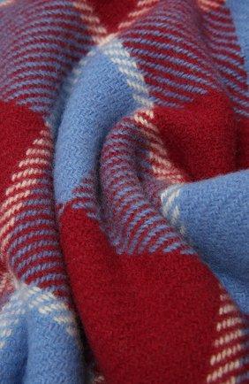 Женский шерстяной шарф ACNE STUDIOS разноцветного цвета, арт. CA0103/W   Фото 2