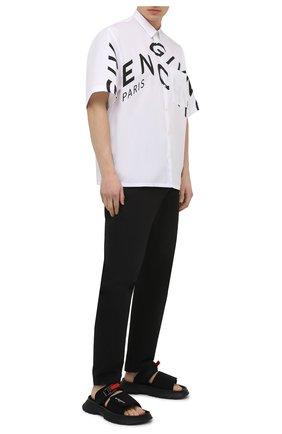 Мужские текстильные шлепанцы spectre GIVENCHY черного цвета, арт. BH3016H0SB | Фото 2