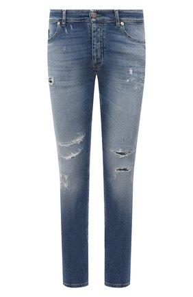 Мужские джинсы PREMIUM MOOD DENIM SUPERIOR голубого цвета, арт. S21 0352752134/BARRET   Фото 1