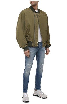 Мужские джинсы PREMIUM MOOD DENIM SUPERIOR голубого цвета, арт. S21 0352752134/BARRET   Фото 2