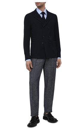 Мужской пиджак GIORGIO ARMANI темно-синего цвета, арт. 1SGGG0LV/T02GP | Фото 2