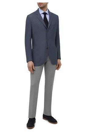 Мужская хлопковая сорочка ETON голубого цвета, арт. 2538 79315 | Фото 2