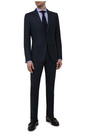 Мужская хлопковая сорочка ETON синего цвета, арт. 1000 02258 | Фото 2
