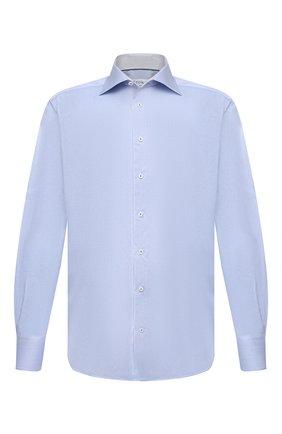 Мужская хлопковая сорочка ETON голубого цвета, арт. 1000 02238 | Фото 1