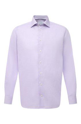 Мужская хлопковая сорочка ETON сиреневого цвета, арт. 1000 01772 | Фото 1