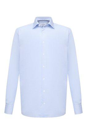 Мужская хлопковая сорочка ETON голубого цвета, арт. 1000 01772 | Фото 1