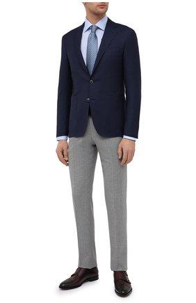 Мужская хлопковая сорочка ETON голубого цвета, арт. 1000 01772 | Фото 2