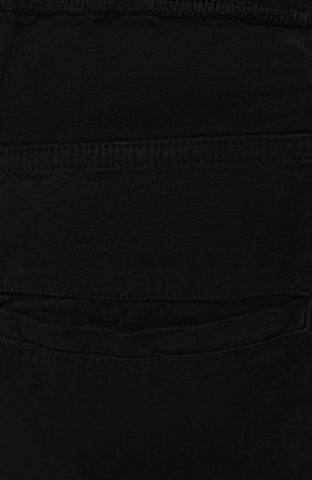 Мужские льняные брюки 120% LINO черного цвета, арт. T0M2131/0253/000 | Фото 5 (Длина (брюки, джинсы): Стандартные; Случай: Повседневный; Материал внешний: Лен; Стили: Кэжуэл)