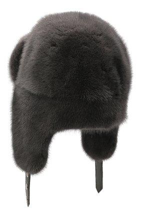 Шапка-ушанка Френки из меха норки | Фото №2
