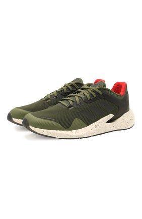 Мужские кроссовки alphatorsion ADIDAS хаки цвета, арт. FY0004 | Фото 1