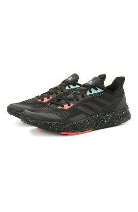 Мужские кроссовки x9000l2 ADIDAS черного цвета, арт. FW0804 | Фото 1