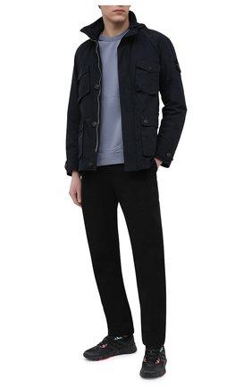 Мужские кроссовки x9000l2 ADIDAS черного цвета, арт. FW0804 | Фото 2
