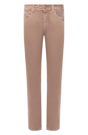 Мужские джинсы LORO PIANA бежевого цвета, арт. FAG1329 | Фото 1