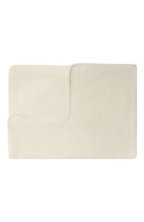 Детского кашемировое одеяло BALMAIN белого цвета, арт. 6O0A40 | Фото 2