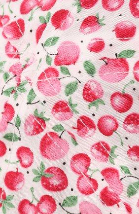 Детская хлопковая панама CATYA розового цвета, арт. 115051   Фото 3