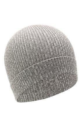 Детского хлопковая шапка CATYA серого цвета, арт. 115178 | Фото 1