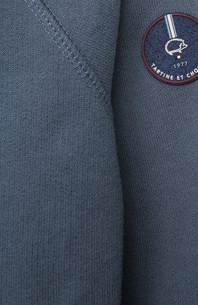 Детский хлопковая толстовка TARTINE ET CHOCOLAT синего цвета, арт. TS17001/1M-1A | Фото 3
