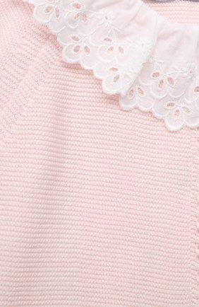 Детский хлопковый комбинезон TARTINE ET CHOCOLAT светло-розового цвета, арт. TS32001/1M-1A | Фото 3