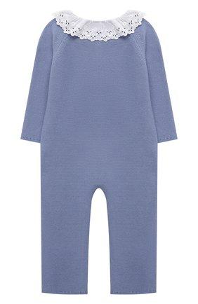 Детский хлопковый комбинезон TARTINE ET CHOCOLAT голубого цвета, арт. TS32001/1M-1A | Фото 2
