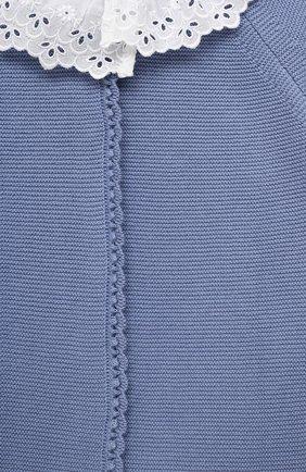Детский хлопковый комбинезон TARTINE ET CHOCOLAT голубого цвета, арт. TS32001/1M-1A | Фото 3