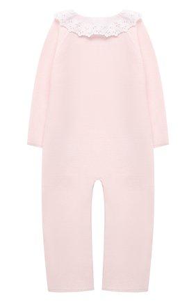 Детский хлопковый комбинезон TARTINE ET CHOCOLAT светло-розового цвета, арт. TS32001/18M-3A | Фото 2
