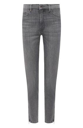 Женские джинсы BOSS светло-серого цвета, арт. 50447969 | Фото 1