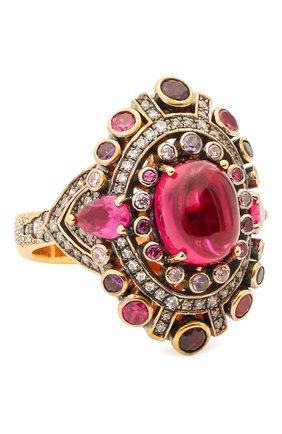 Женское кольцо antique QUEENSBEE золотого цвета, арт. 102317/11,71 | Фото 1