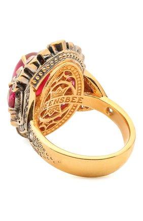 Женское кольцо antique QUEENSBEE золотого цвета, арт. 102317/11,71 | Фото 2
