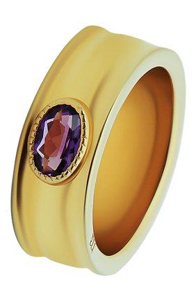 Женское кольцо с аметистом MOONKA STUDIO фиолетового цвета, арт. an-r-amt   Фото 1
