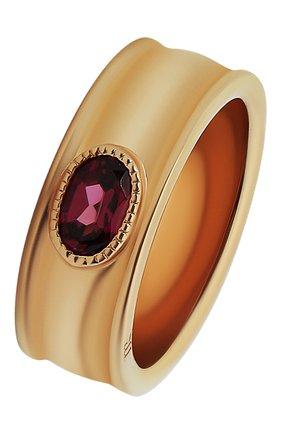 Женское кольцо с родолитом MOONKA красного цвета, арт. an-r-rdl   Фото 1 (Материал: Серебро)