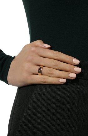 Женское кольцо с родолитом MOONKA красного цвета, арт. an-r-rdl   Фото 2 (Материал: Серебро)