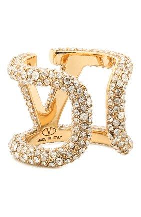Женское кольцо vlogo VALENTINO золотого цвета, арт. VW2J0G74/YCW | Фото 2