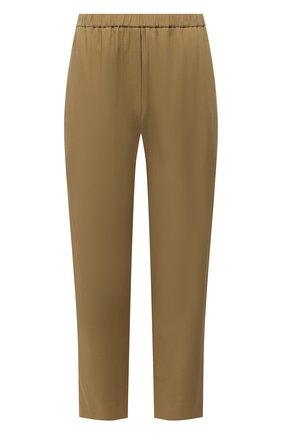 Женские брюки из вискозы TELA хаки цвета, арт. 14 0234 01 0153 | Фото 1