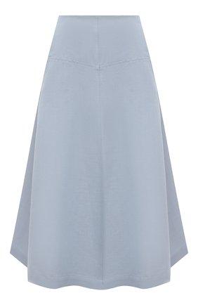 Женская юбка изо льна и хлопка TELA голубого цвета, арт. 11 5269 01 0170 | Фото 1