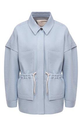 Женская куртка из льна и хлопка TELA голубого цвета, арт. 07 0001 01 0170 | Фото 1