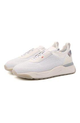 Женские комбинированные кроссовки SANTONI белого цвета, арт. WBI060790BGTCLRXI50 | Фото 1